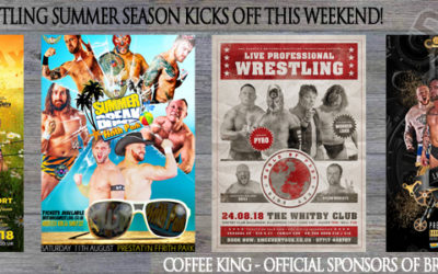 Coffee King & Britannia Wrestling Set To Set The Summer On Fire
